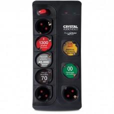 Πολύπριζο -ασφαλείας -8 -θέσεων- CRYSTAL -AUDIO -CP8-1300-70 - 1300 -Joule-