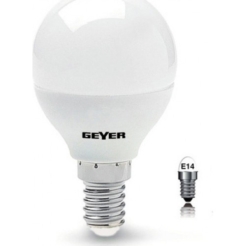 -ΛΑΜΠΤΗΡΑΣ -GEYER- G45-E14- 6W -Economy-