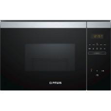 Εντοιχιζόμενος- φούρνος- μικροκυμάτων -PITSOS -PG30W75X0- ΙΝΟΧ-