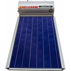 ΗΛΙΑΚΟ -ΘΕΡΜΟΣΙΦΩΝΟ -HELIOAKMI- Megasun -200-2.62m2 - Επιλεκτικος -Διπλής- Ενέργειας-