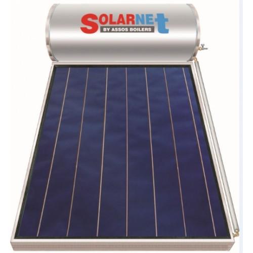 ΗΛΙΑΚΟ -ΘΕΡΜΟΣΙΦΩΝΟ -SOLARNET -SOL- 200 -2,5m2 - Επιλεκτικος-Διπλής -Ενέργειας -