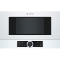 Εντοιχιζόμενος- φούρνος- μικροκυμάτων- BOSCH- BFL634GW1- Λευκό- Serie- 8-