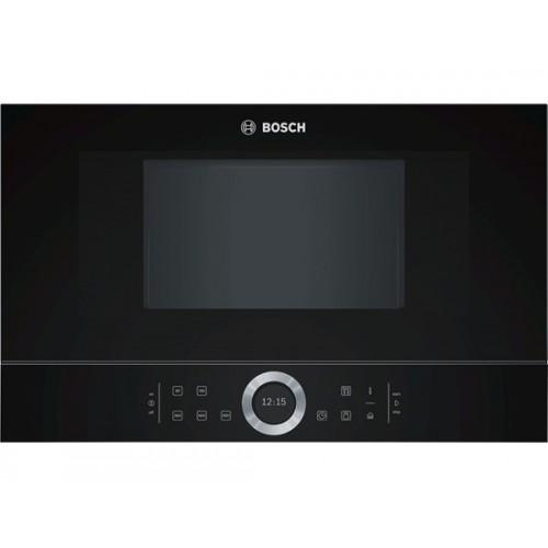 Εντοιχιζόμενος- φούρνος -μικροκυμάτων- BOSCH- BFL634GB1- Μαύρο- Serie- 8-